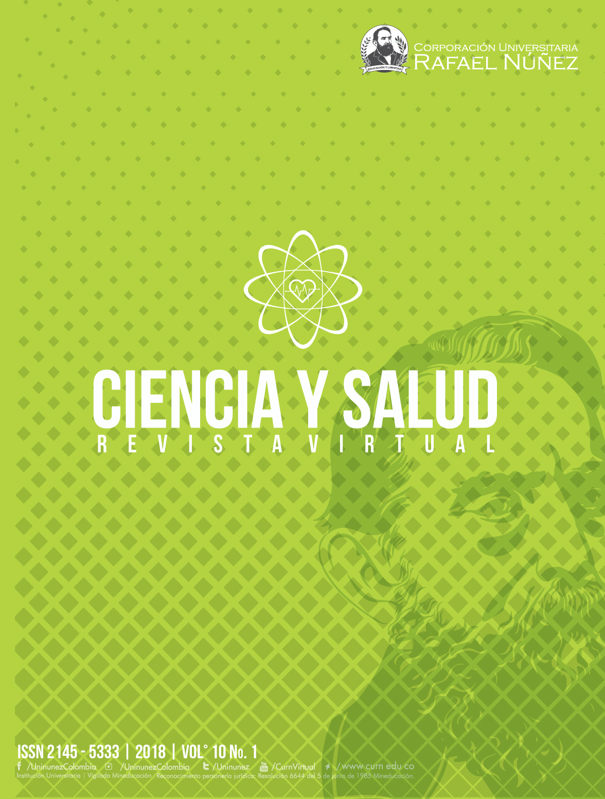 Ciencia y Salud Virtual 2018 Vol 1